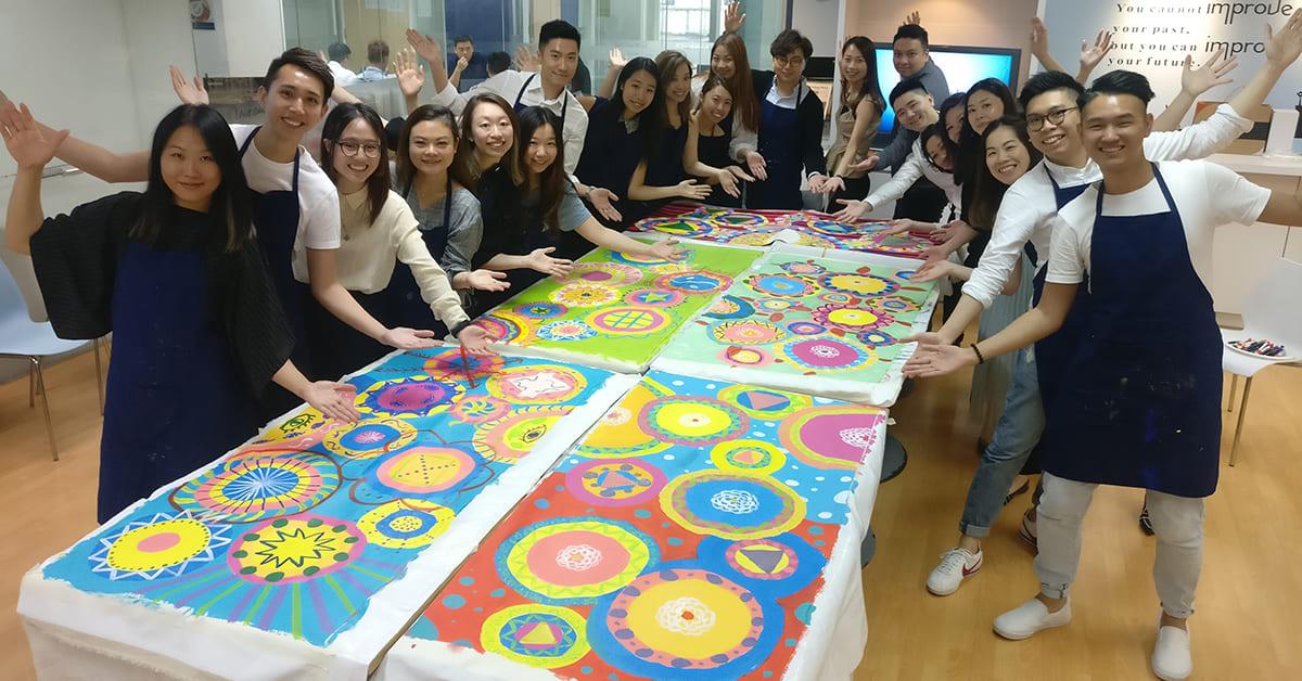 Circle Painting 共「繪」團隊新里程